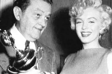 """Favorite Actress 1953"" National Movie Poll Award"