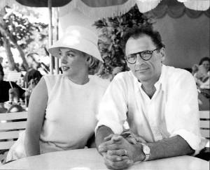 Arthur and Marilyn, Jamaica, 1957
