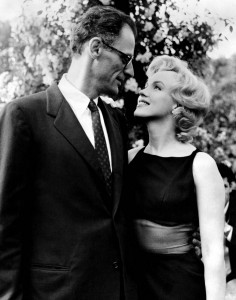 Arthur and Marilyn, 1956
