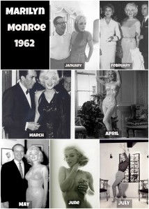 Photos of Marilyn throughout 1962 prove there was no pregnancy.