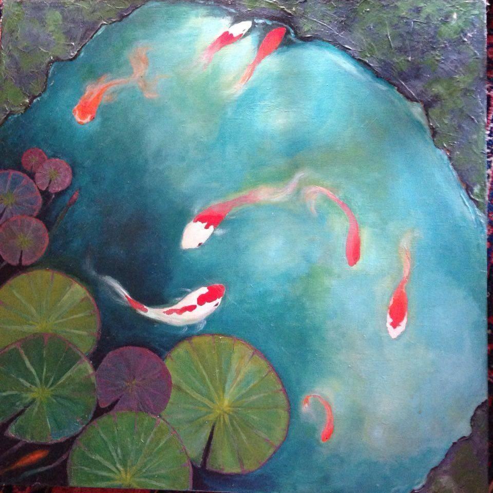 One of Lindas paintings