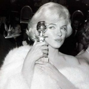Marilyn's Golden Globe for Some Like it Hot