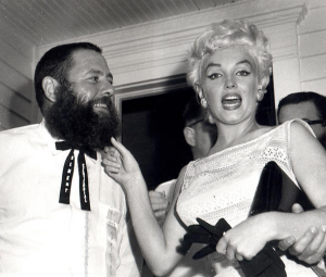 Marilyn judges a beard contest