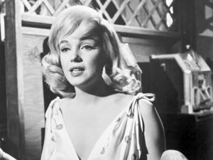 Marilyn as Roslyn in The Misfits.