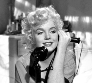 Marilyn as Sugar in Some Like it Hot.