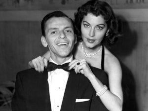 Ava with Frank Sinatra
