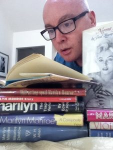 Fraser Penney and his books.