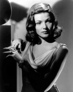 Gene Tierney in a publicity still for Laura, 1944.