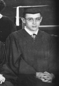 James Dean in high school