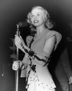 Doris Day performs in 1939