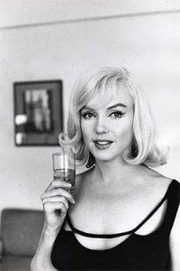 Marilyn photographed by Inge Morath