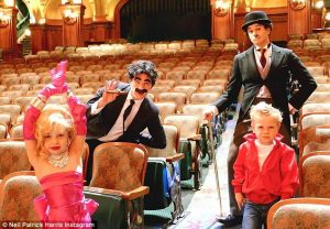 Neil Patrick Harris and family for Halloween!