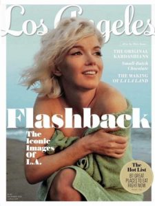 Marilyn's latest magazine cover.