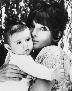 Audrey with her son, Luca