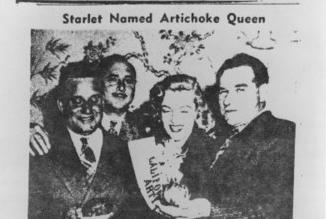 Artichoke Queen 1948